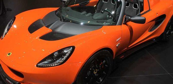 รถ Supercar สุดหรูยี่ห้อ Lotus