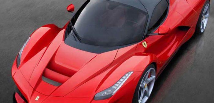 รถสุดหรูแบรนด์ Ferrari