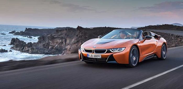 รีวิวรถ BMW i8 Model 2019