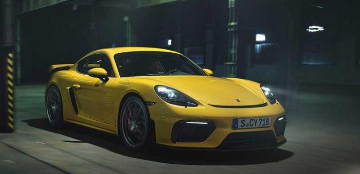 รถหรู ซุปเปอร์คาร์ รีวิว Porsche 718 Cayman GT4 ปี 2020