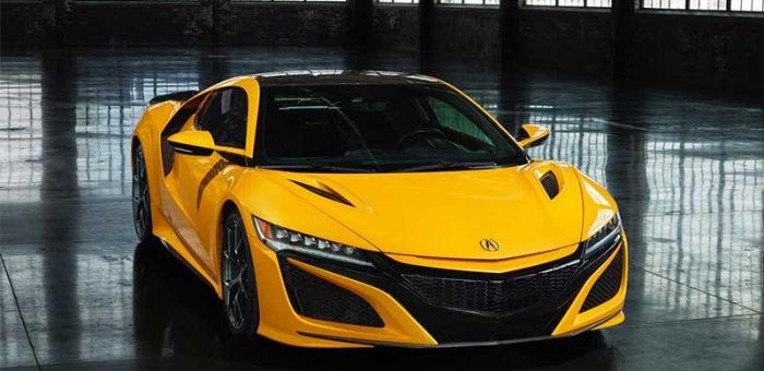 รีวิว Honda NSX 2020 เวอร์ชั่นสี Indy Yellow Pearl II